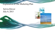 Explanation of Our Marketing Plan - Copy
