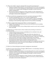Review Questions chapter 17