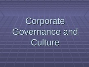 corporate governnance
