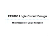 03 Minimization of Logic Function