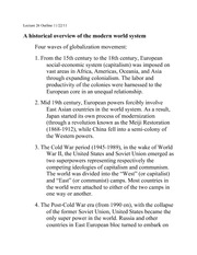 Lecture 26 World system
