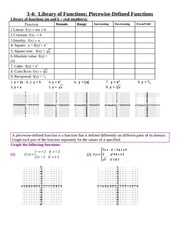 3-4 Library&Piecewise