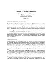 Epistemology Descartes Meditation 1 Notes.pdf