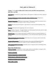 Study guide for midterm #2.docx