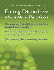 hand book eating disorder