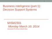 MISM2301 decision support systems (Session 23)-Sec 4(1)