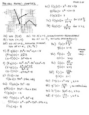 Worksheet Chapter 1 Review - Ican Ch. 1.1 polynomialfunctions ...