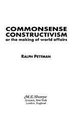 Conclusion- A constructed world - Ralph Pettman