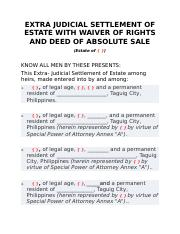 EXTRA-JUDICIAL-SETTLEMENT-OF-ESTATE-WITH-WAIVER-OF-RIGHTS-AND-DEED-OF-ABSOLUTE-SALE.docx