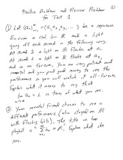 Math Review 1