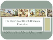 The flourish of British romantic caricature
