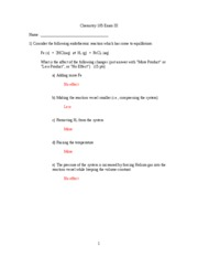 Exam 3 Spring 2005 ANSWERS