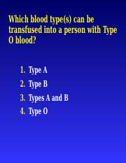 BloodSampleQuestions.ppt