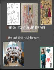 Fashion Through The Decades powerpoint.ppt
