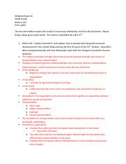 History 120 Mid term study guide 2.docx