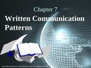 Chapter 07 Written Communication Patterns