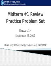 Midterm 1 Review Problems .pptx