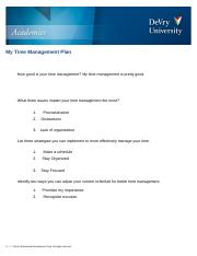 My_Time_Management_Plan -