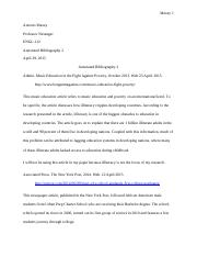 Antonio Maxey- Engl 112 Annotated bibliography 2