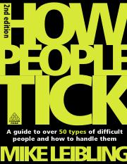 How People Tick- Mike Leibling.pdf