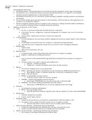 ISA 3210 - Ch 1 Book Notes