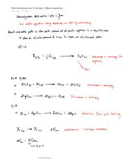 Thermodynamics Entropy, Gibbs equation