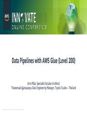 Data Pipelines with AWS Glue (Level 200) pdf - Data