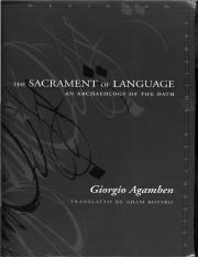 Giorgio Agamben-The Sacrament of Language_ An Archaeology of the Oath (Meridian_ Crossing Aesthetics