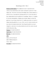 Neutralizing an Acid - Part 2 Lab Report