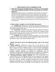 ASSIGMENT EIGHT Principles of Management.docx