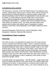 Contradictory Class Locations Research Paper Starter - eNotes.pdf