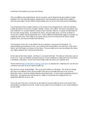 Week 6 – Final Paper Psychological Assessment Report