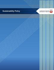 English version sustainability policy