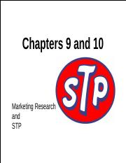 Chapter 9 STP  10 Marketing Research Roberts 9-16.pptx
