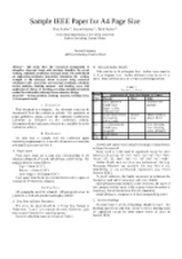 IEEE-Conference paper format