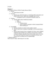 test 2 class notes