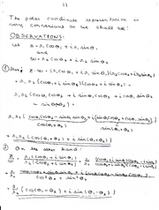 Complex Numbers 11