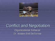Session 19 (Conflict and Negotiation)