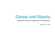 9. classes and objects