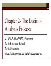 Decision-Chapter 2