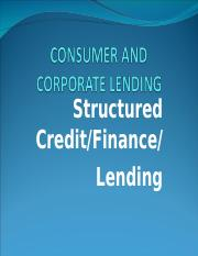 structured lending - Copy