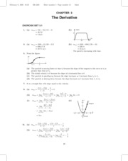Chapter 3 Solutions Manual