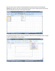 How to make a graph in Excel 2007-1