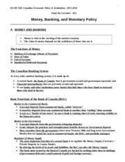Econ 318_F2015_Chapter_021_Money, Banking,and Monetary, Policy
