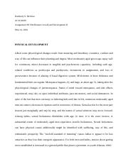 Assingment 08 Human Growth and Devlopment II.docx