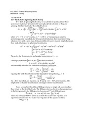 Study Guide on Kerr Black Holes