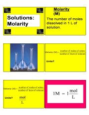 solutions_molarity