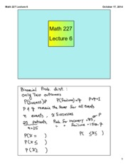 Math 227 Lecture 6
