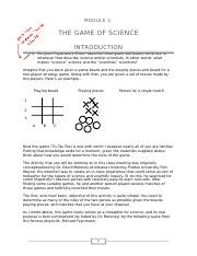 Module 1 - Game of Science - IntroductionPlusPrep.docx