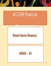 Week 10 - Short-term Finance.pptx